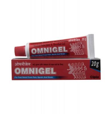 Omnigel Gel(Topical) 20gm