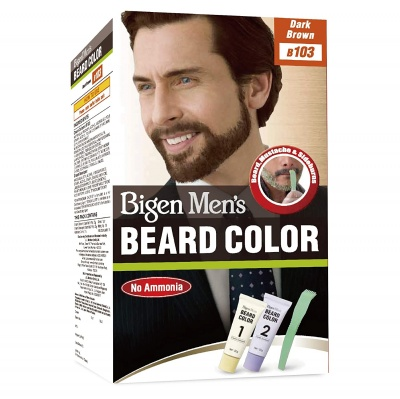 Bigen Men's Beard Color, Dark Brown B103