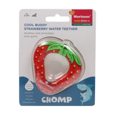 Cool Buddy Toy Teether - Strawberry