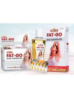 Jolly Fat Go 60 Capsules & 110ml Oil, Combo