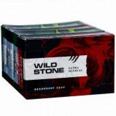 Wild Stone Combo Soap (Buy 3 Get 1 Free & Save Rs.30/-) 4 x 75 g