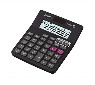Casio Electronic Calculator – MJ-12D-Bk