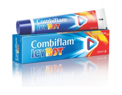 Combiflam Icy Hot Fast Pain Relief Gel 15gm