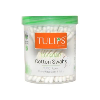 Tulip Paper Stick Cotton Swabs Eco-Friendly Swabs