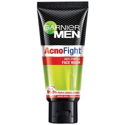 GARNIER MEN ACNO FIGHT ANTI-PIMPLE FACE WASH, 50gm