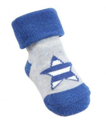 Morison Baby Socks - Blue star