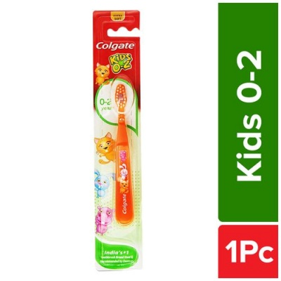 Colgate Kids 0-2 Years Extra Soft Toothbrush, 1 pc
